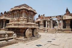 Vittala temple in Hampi Stock Photography