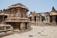 Vittala temple in Hampi Stock Photography