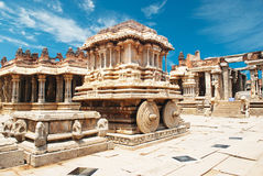 Vittala temple in hampi Royalty Free Stock Image