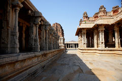Vittala temple in Hampi. Stock Images