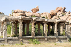 Vittala temple at Hampi Royalty Free Stock Image