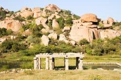 Vittala temple at Hampi Stock Images