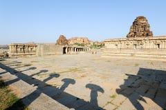 Vittala temple at Hampi Royalty Free Stock Images
