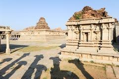 Vittala temple at Hampi Stock Photo
