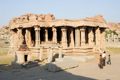 Vittala temple at Hampi Royalty Free Stock Image