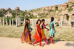 Vittala temple at Hampi Royalty Free Stock Photo