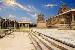 Vittala Temple Hampi, Karnataka, India stock photo