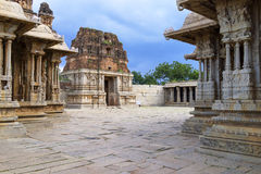Vittala Temple Hampi, Karnataka, India stock image
