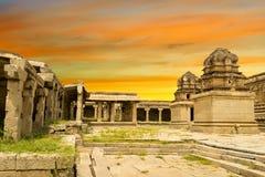 Vittala Temple Hampi, Karnataka, India royalty free stock images