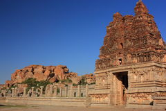 Vittala (Vitthala) Temple in Hampi, India. Royalty Free Stock Images