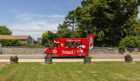 Vittel Truck - Tour de France 2017 royalty free stock photos
