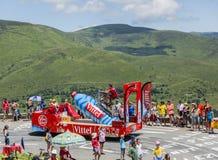 Vittel Vehicle - Tour de France 2014 Stock Photography