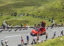 Vittel Vehicle - Tour de France 2014 Royalty Free Stock Image