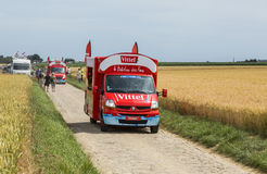 Vittel Vehicle - Tour de France 2015 Stock Photography