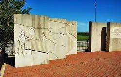 Vittime commemorative di incidenti dei lavoratori della strada dello stato di Kansas immagine stock