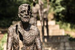 Vittime del monumento di comunismo immagini stock