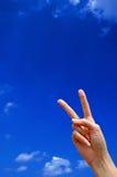 Vittoria! Fotografie Stock Libere da Diritti