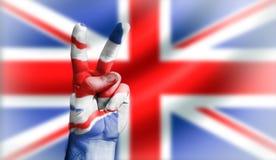 Vittoria britannica Fotografie Stock