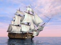 Vittoria di HMS Fotografia Stock Libera da Diritti