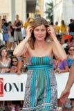 Vittoria Puccini al Giffoni Film Festival 2011 Fotografia Stock
