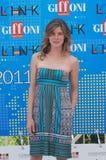 Vittoria Puccini al Giffoni Film Festival 2011 Fotografie Stock