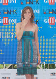Vittoria Puccini al Giffoni Film Festival 2011 Immagini Stock Libere da Diritti