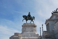 Vittoriale dans le venezia de place à Rome en septembre Photos libres de droits