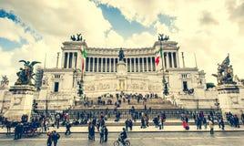Vittoriano在罗马 库存图片