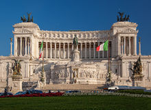 Vittoriano building on the Piazza Venezia in Rome, Italy Stock Image