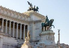 Vittoriano herdenkings complex royalty-vrije stock afbeeldingen