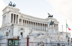 Vittoriano Il в venezia аркады, Риме Стоковые Изображения RF