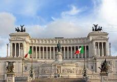 Vittoriano monument Stock Photo