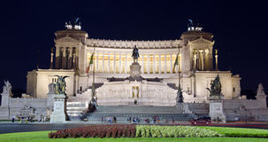 Vittoriano Monument - Rome, Italy Royalty Free Stock Photography