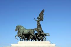 Vittoriano, monumento di Vittorio Emanuele II Fotografia Stock Libera da Diritti