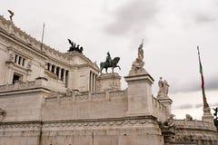 Vittoriano o altare della patria Fotografia Stock Libera da Diritti