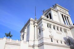 Vittoriano, Roma Foto de archivo libre de regalías