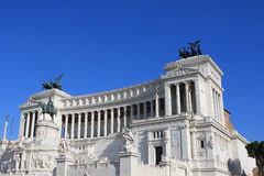 Vittoriano, Rome. National monument to Vittorio Emanuele II (Victor Emmanuel II) or Altare della Patria (Altar of the Fatherland), Rome, Italy Royalty Free Stock Images