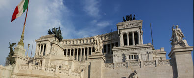 Vittoriano in Rome Royalty Free Stock Photography