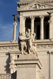 Vittoriano in Rome Stock Photo