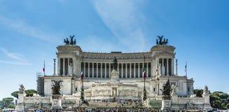 Vittoriano in Rome Royalty-vrije Stock Fotografie