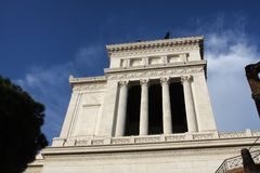 Vittoriano in Rome Royalty Free Stock Image