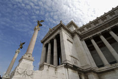 vittoriano rzymu obrazy royalty free