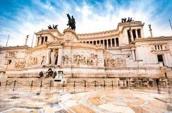 Vittoriano w Roma obraz royalty free