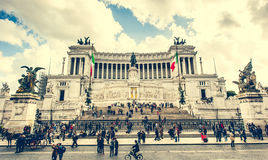 Vittoriano w Roma obrazy stock