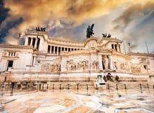 Vittoriano w Roma fotografia royalty free