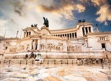 Vittoriano w Roma zdjęcie stock