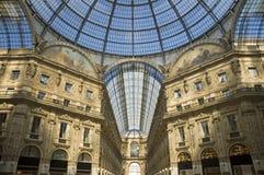 vittorio του Μιλάνου galleria του Emanuele Στοκ φωτογραφία με δικαίωμα ελεύθερης χρήσης