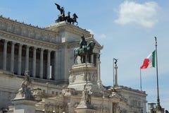 vittorio του Emanuele Ρώμη Στοκ Φωτογραφία