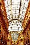 vittorio de Milan de galleria d'Emanuele Photos stock