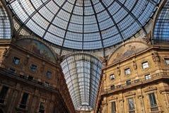 vittorio de Milan de galleria d'Emanuele image libre de droits
